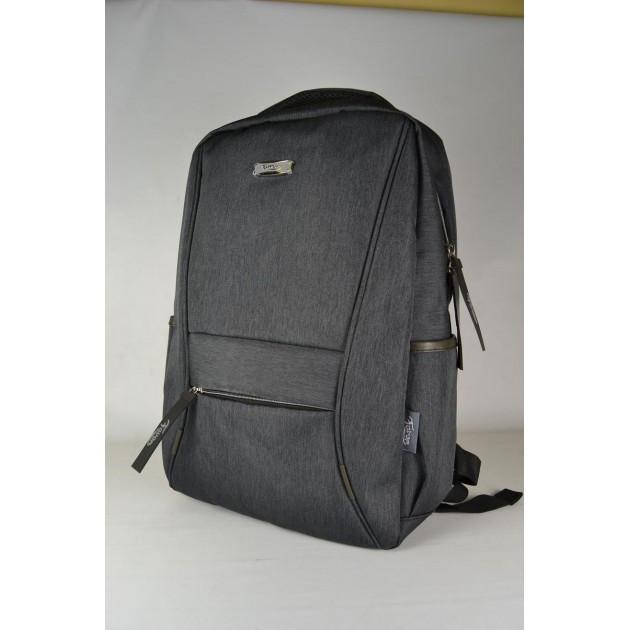 Міський рюкзак темно-сірий   Городской молодежный темно-серый рюкзак