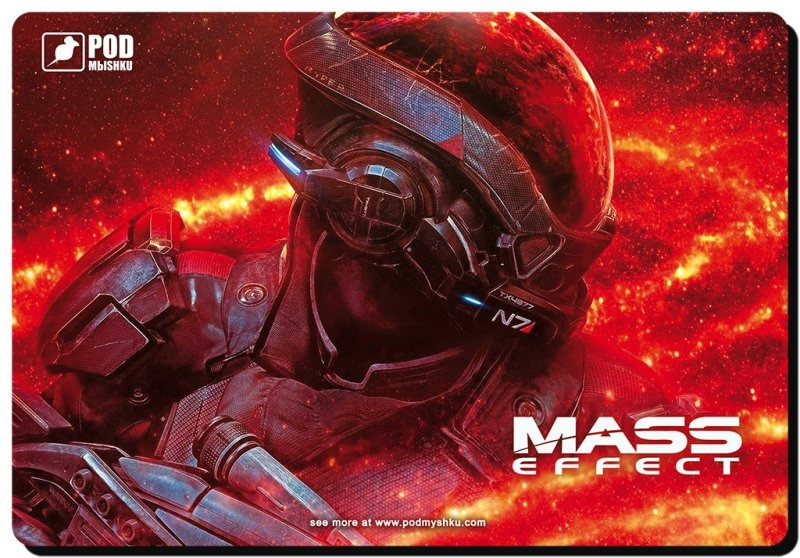 Килимок Pod Myshkou Mass Effect-М