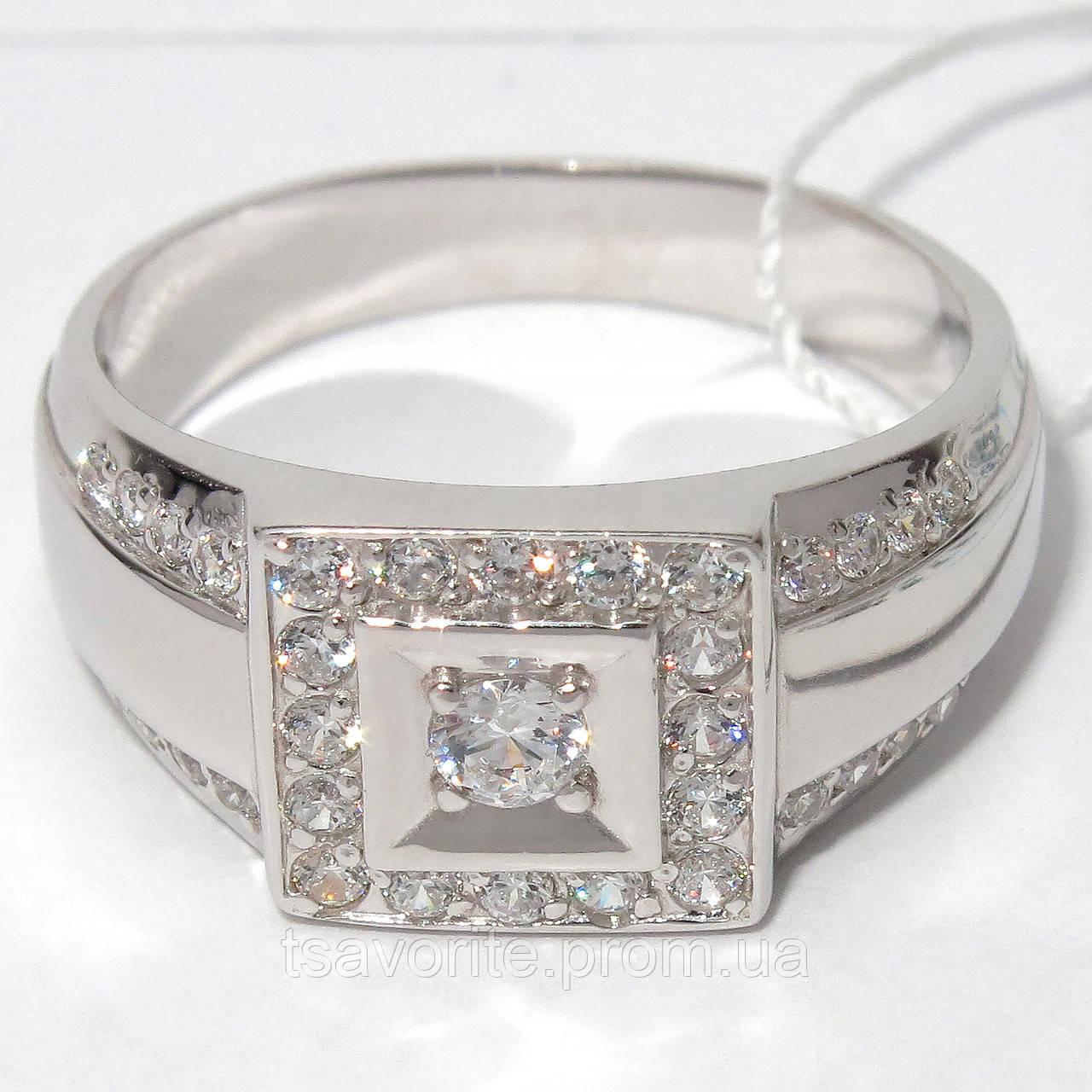 Мужское серебряное кольцо КМХ-36