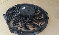 """Вентилятор универсальный (радиатора) 9 """"(дюймов, 25,5см ) 24 Вольта"""