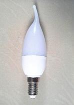 """Светодиодная лампа Е14 3W """"Свеча на ветру"""""""