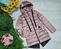 Куртка для девочки осень  весна код 2063  размеры на рост от 128 до 152 возраст от 6 лет и старше