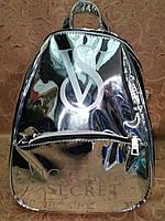 Глянцевый женский рюкзак VICTORIA'S SECRET  качество городской стильный Популярный только опт, фото 1