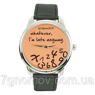 Часы наручные AndyWatch I am late orange арт. AW 031, фото 2