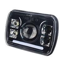 Фара прямокутна LED 5х7 дюйми, 60 Вт, Jeep Cherokee XJ Truck Ford, 12, 45 Вт,