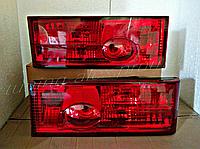 Задние Фонари ВАЗ 2108/2109/21099/2113/2114 Полностью Красные (ламповые)
