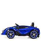 Детский электромобиль Lamborghini M 4115EBLR-4 синий, фото 3