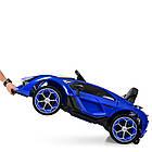 Детский электромобиль Lamborghini M 4115EBLR-4 синий, фото 6