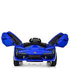 Детский электромобиль Lamborghini M 4115EBLR-4 синий, фото 5