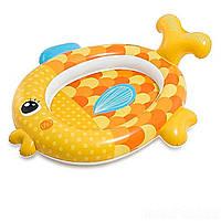 Дитячий надувний басейн Intex Золота рибка 57111, фото 1