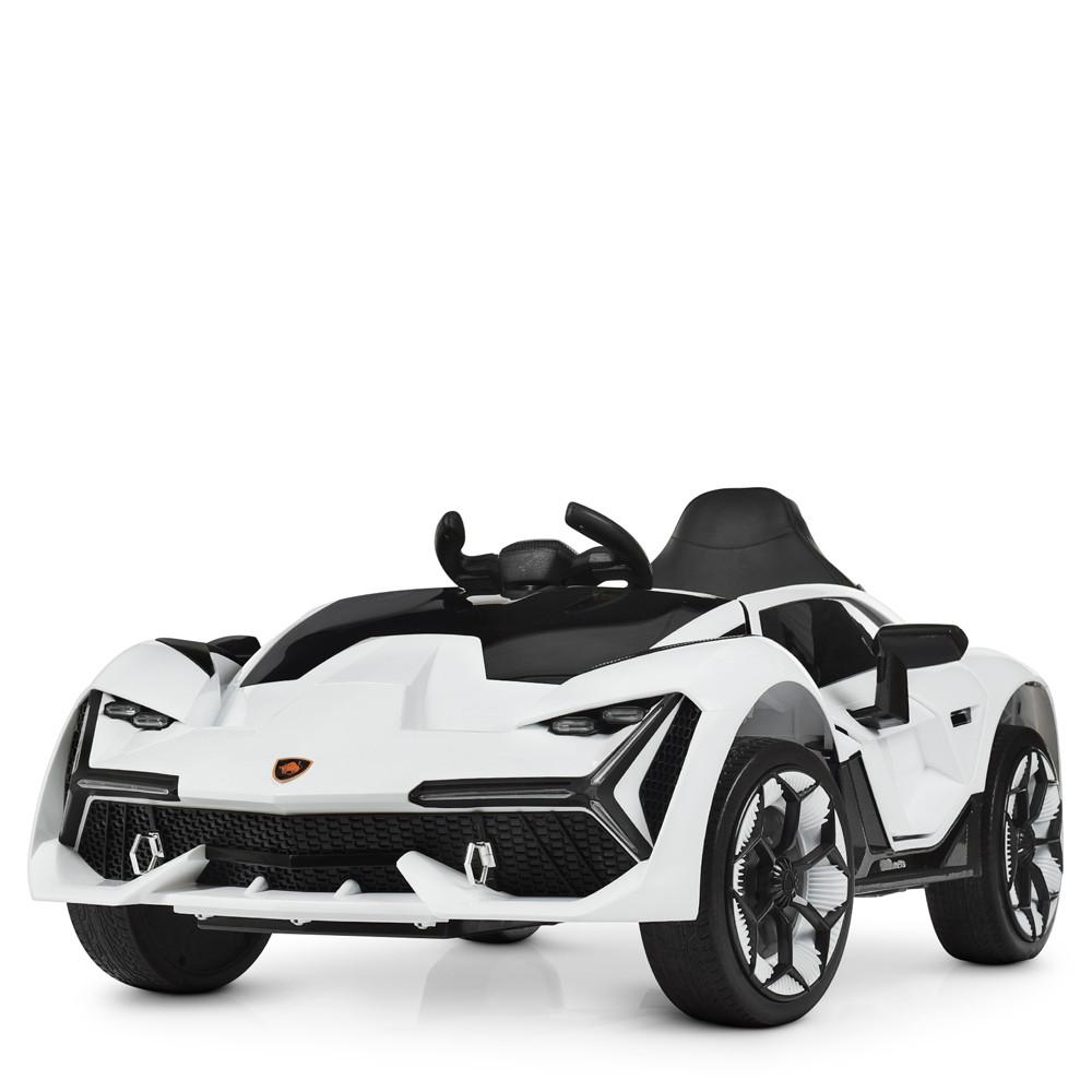 Детский электромобиль Lamborghini M 4115EBLR-1 белый