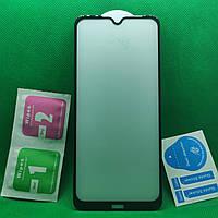 Xiaomi Redmi Note 8T Изогнутое 5D защитное стекло Черный