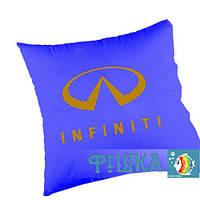 Подушка с логотипом INFINITI, фото 1