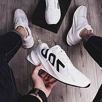 Кроссовки мужские в стиле Adidas Реберу 700, белые (демисезонные мужская обувь без бренда)