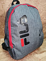 Рюкзак 2 отдела fila мессенджер спорт спортивный городской стильный школьный рюкзак только опт, фото 1