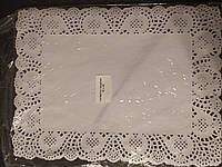 Ажурная бумажная салфетка 320х450 мм (упаковка 100 шт)