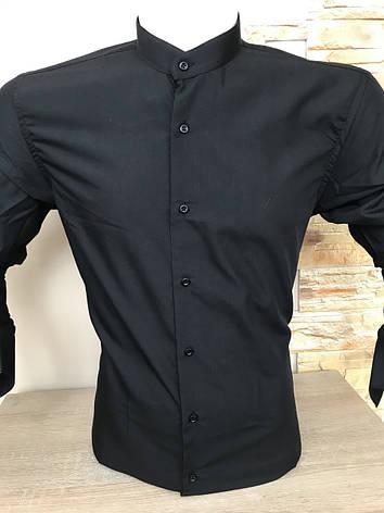 Рубашка Fiorenzo с воротником-стойка, фото 2