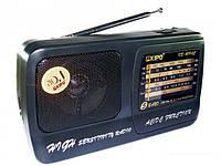 Радиоприемник переносной KIPO KB-409(408) AC Выход для наушников Точная подстройка аналоговый тюнер AM/SW/FM
