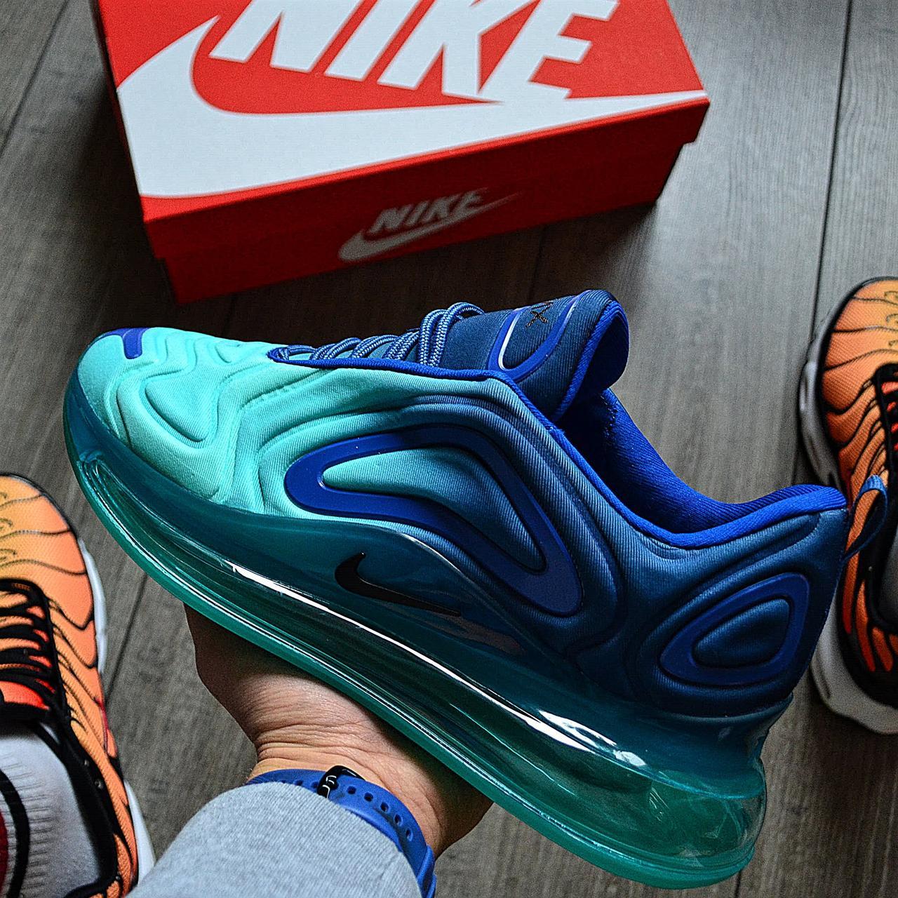 Мужские кроссовки в стиле Nike Air Max 720 Sea Forest