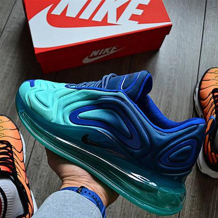 Мужские кроссовки в стиле Nike Air Max 720 Sea Forest, фото 2