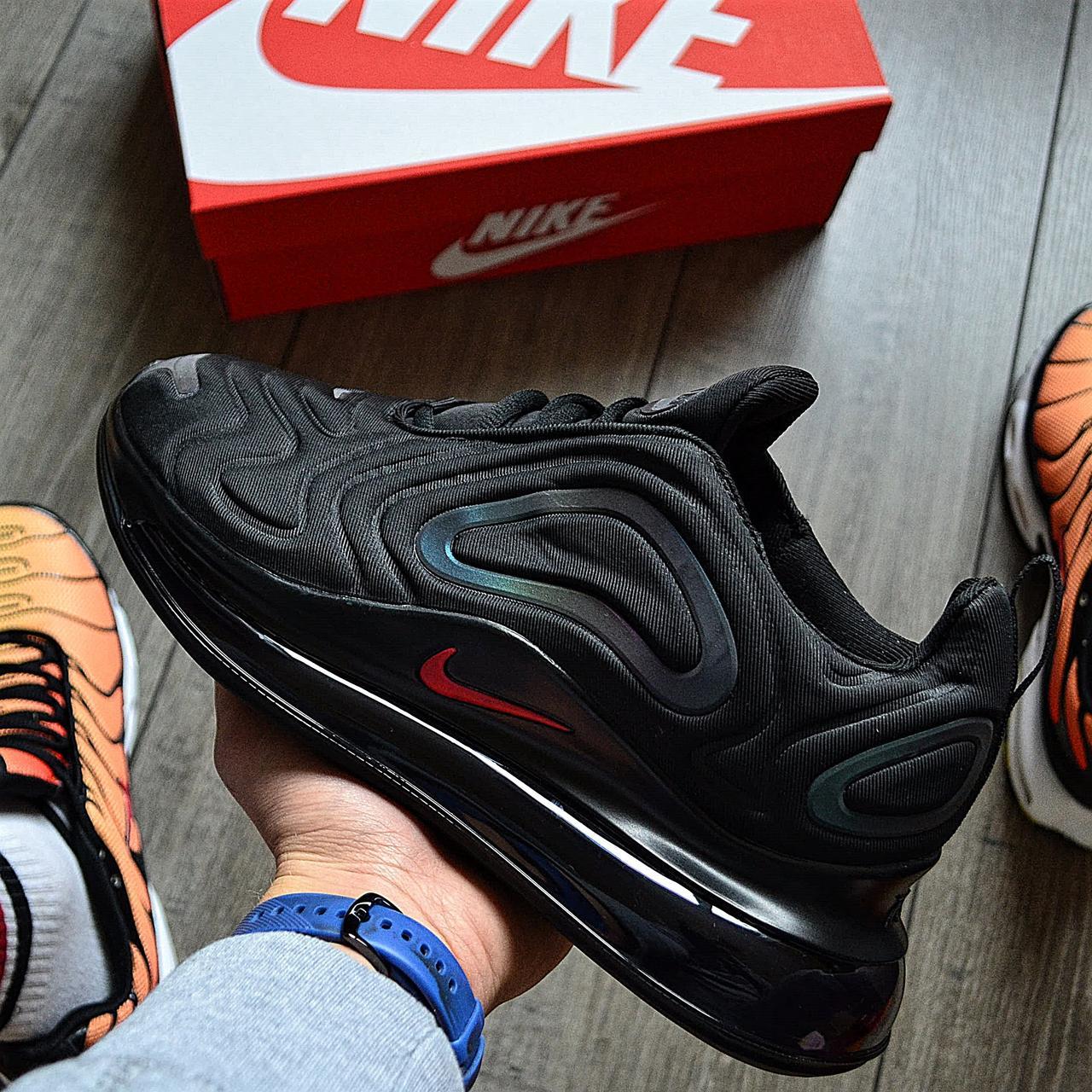 Мужские кроссовки в стиле Nike Air Max 720 Black Laser