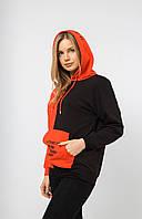 """Батник женский полубатальный с капюшоном, размер 48-52 (6 цв) """"SWEET"""" недорого от прямого поставщика"""