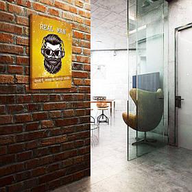 """Постеры """"Real Man"""" barbershop"""