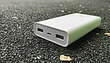 Портативная батарея Xiaomi Mi Power Bank 2C 20000mAh c быстрой зарядкой QC3.0 Оригинал. Повербанк, аккумулятор, фото 3