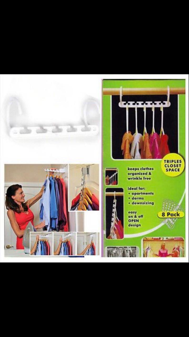 Вешалка для одежды 8 в 1 Wonder Hanger