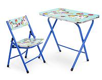 Детский  стол и стул Единорожки