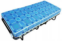 Туристическая складная кровать с матрасом 80x190 (2 цвета)р