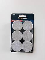 Круглые подкладки для мебели  войлочные диаметр 38 мм 24 шт