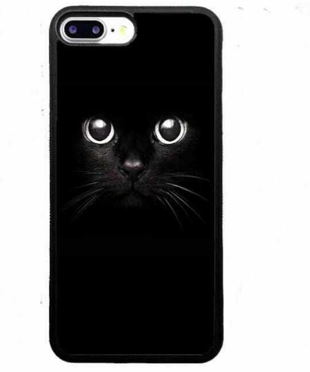Силиконовый чехол Котик iPhone 8, Х