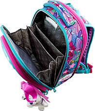 Набор школьный ранец ортопедический каркасный для девочки Девочка DeLune 9 серия 9-122, фото 2
