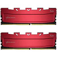 Модуль памяти для компьютера DDR4 32GB (2x16GB) 3000 MHz Red Kudos eXceleram (EKRED4323016AD)