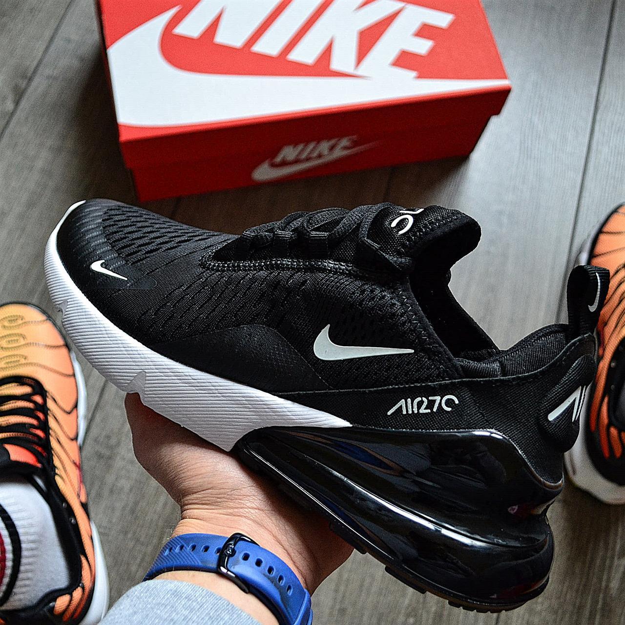 Мужские кроссовки в стиле Nike Air Max 270 Black/White
