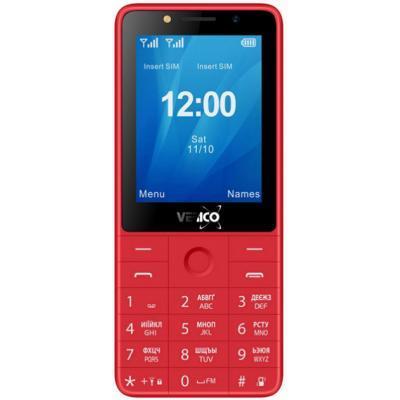Кнопочный телефон Verico Qin S282 Red