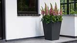 Цветочный горшок Keter Beton Conic High 40 CM, фото 3