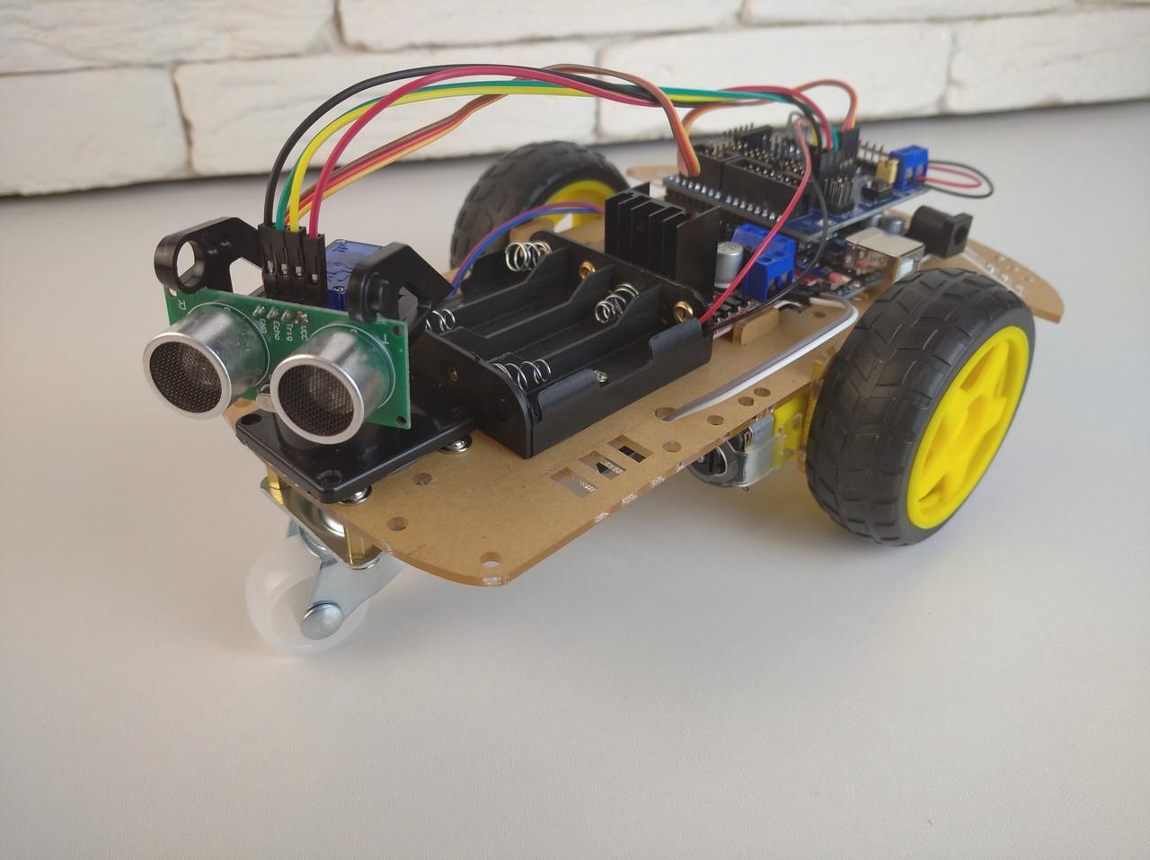 Конструктор Arduino умная машина набор Car Kit для Arduino uno DIY Kit