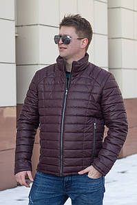 Мужская куртка осень-весна  от производителя  48-56 бордовый