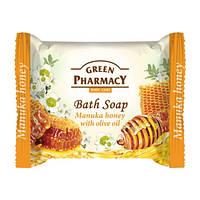 Туалетное мыло. Green Pharmacy. Мед манука с оливковым маслом 100 г