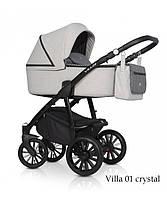 Детская универсальная коляска 2 в 1 Riko Villa 01 Crystal (Рико Вилла)