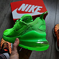 Мужские кроссовки в стиле Nike Air Max 270 Green, фото 3