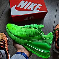 Мужские кроссовки в стиле Nike Air Max 270 Green