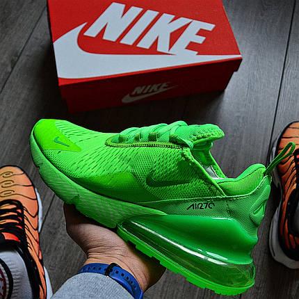 Мужские кроссовки в стиле Nike Air Max 270 Green, фото 2