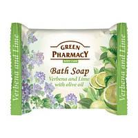Туалетное мыло. Green Pharmacy. Вербена и лайм с оливковым маслом 100 г