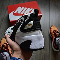 Мужские кроссовки в стиле Nike Zoom 2k Black/White, фото 3