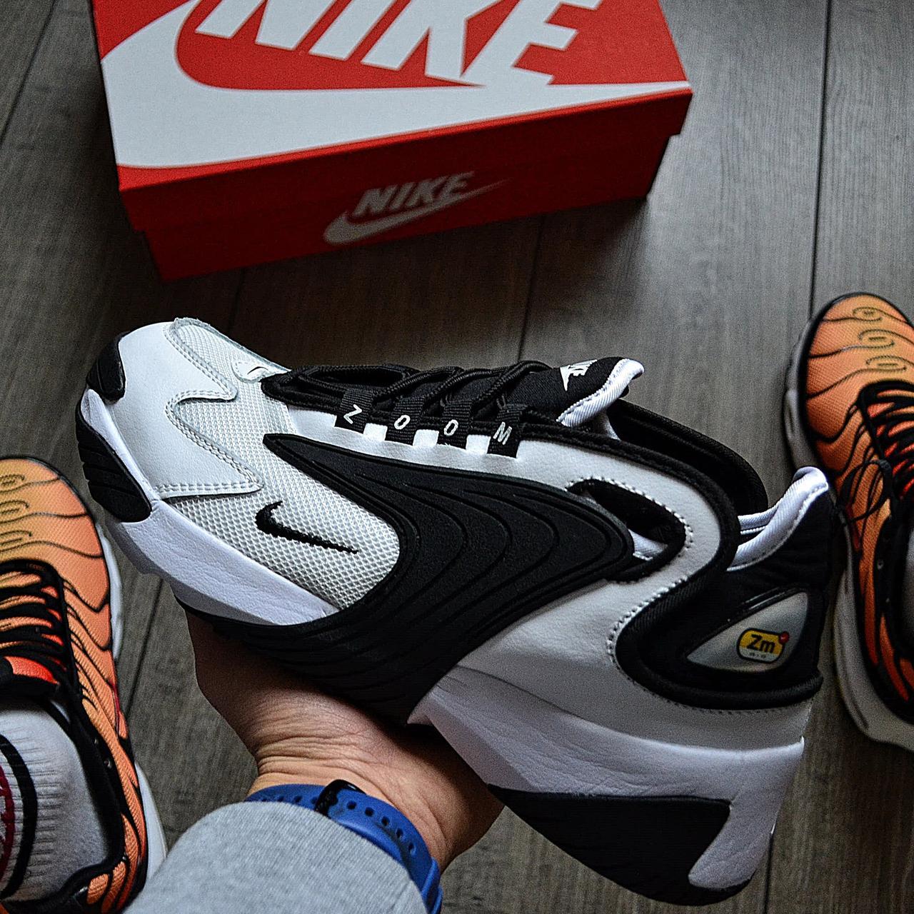 Мужские кроссовки в стиле Nike Zoom 2k Black/White