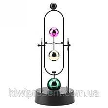 Маятник инерционный на батарейках  (Spinning balls), фото 2