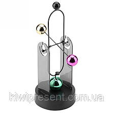 Маятник инерционный на батарейках  (Spinning balls), фото 3